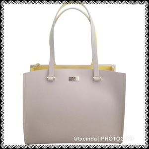 KATE SPADE Kyra Arbour Hill Leather Tote